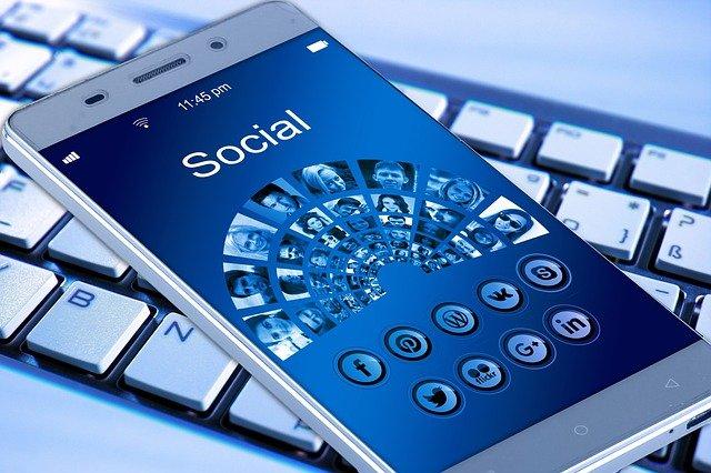 An image of social media platforms